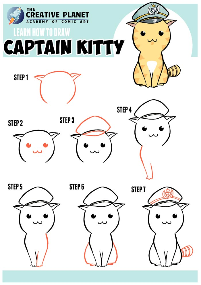 How-to-Draw-Captain-Kitty