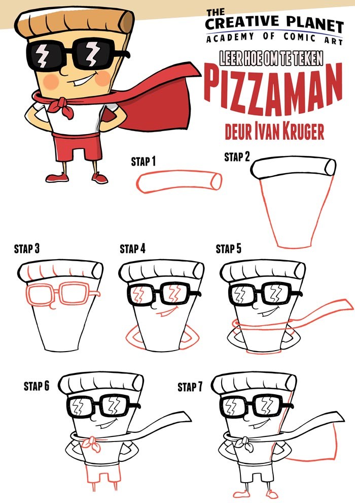 How-to-draw-Pizzaman