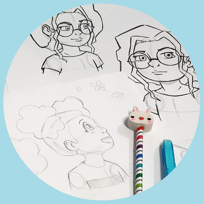 Comic, Cartoon & Anime Art